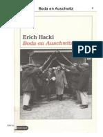 Hackl, Erich - Boda en Auschwitz