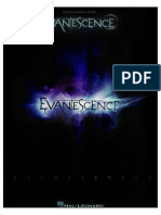 Evanescence (2011) Piano Sheets