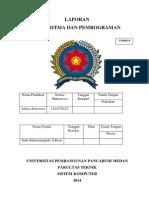 Laporan Praktikum Algoritma Dan Pemrograman (Aditya Setyawan)