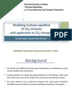 4.E Voutsas NTUA Modeling of Phase Equilibria CO2 Mixtures