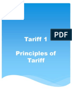 Tariff 1 Reviewer