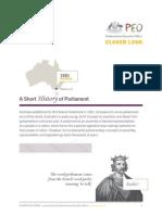 Short history of parliament