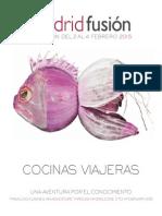 Programa Madrid Fusión 2015