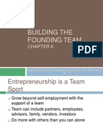 Ch06 Building the Founding Team