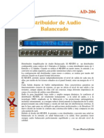 DISTRIBUIDOR DE AUDIO