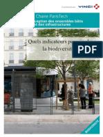 Quels Indicateurs Pour Évaluer La Biodiversité en Ville