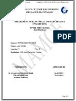 Power Electronics Manual