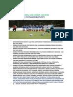 GRASSROOTS & YOUTH FOOTBALL DEVELOPMENT PROGRAM