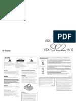 VSX 922 K Manual DEpdf