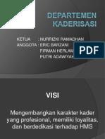 Departemen Kaderisasi