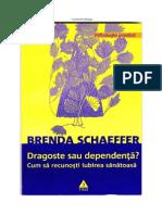 Brenda Schaeffer - Dragoste Sau Dependenta