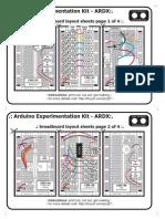 Arduino Experimentation Kit - ARDX Cutting Sheet Exercise (check guide)