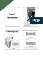 Mechanics of Material_Transverse Shear