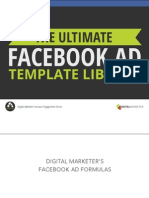 Ultimate Facebook Ad Template Library