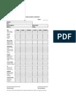 Checklist Mtto ImpresionImpresorasXerox