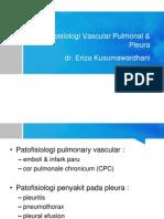 Patoisiologi Pulmonal Vaskular & Pleura
