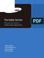 M,S Portable Series User Manual ES