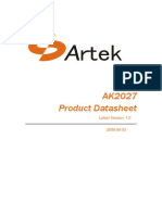 AK2027 Datasheet V1 0_090603