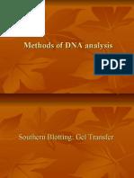 Methods of DNA Analysis