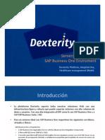 Dexterity Hospital One - Platform Servers Deployment System LandScape