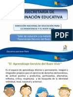 Aprendizaje Servicio 2013