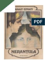 05. Panait Istrati - Nerantula Si Alte Povestiri v.1.0