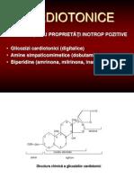 Cardiotonice _antiaritmice