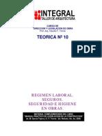 T10 Regimen Laboral - Seguros -Seg. y Higiene