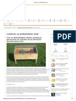 Construir Un Deshidratador Solar