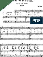 Handel Lascia Chio Pianga Aria Rinaldo in E Flat Major Mezzo Low