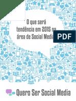 Tendencias Social Media 2015 Querosersocialmedia