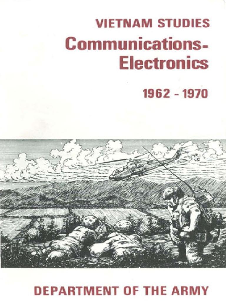 Vietnam Studies Communications and Electronics 1962-1970 | Vietnam War | South Vietnam