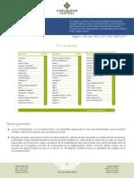 Plan Estudios Carrera Ingenieria Industrial