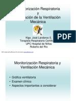 Monitorizacion Respiratoria