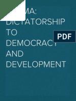 Burma Democratic Concern (BDC) New Year Resolution For 2015