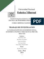 La Globalizacion en El Peru