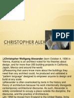 Christopher Alexander