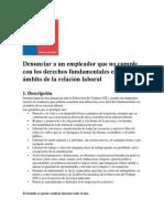 Chile Derechos Fundamentales en El Ámbito de La Relación Laboral