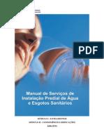 Manual de Serviços de Instalação Predial de Água e Esgotos Sanitários