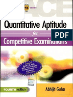 Quantitative Aptitude for Competitive Examinations - Abhijit Guha
