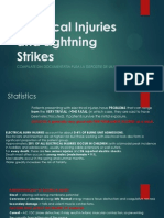 Electrical Injuries and Lightning Strikes