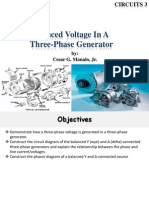 Induced Voltage in a Three Phase Generator v (1)