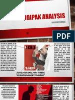Analysis of digipak