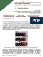Artigo - Naylor Oliveira - A Física Da Música