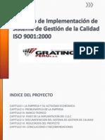 Proyecto de Grado - Grating