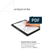 Digital Ink Pad Quick Start Guide