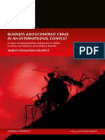 Business and Economic Crime in an International Context