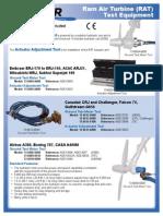 Ram Air Turbine Test Equipment