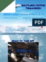 Turkish Airlines Corporate Strategy Case Study - THY şirket düzeyi