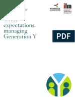 Research Rpt Generation y July2011